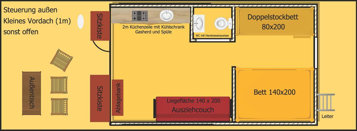Eine grafische Ansicht des D9.